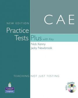 CAE Practice Tests Plus New Edition Students Book with Key, iTest CD ROM and Audio CD