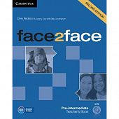 face2face (Second Edition) Pre-intermediate Teacher's Book with DVD