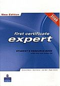 First Certificate Expert New Edition Student's Resource Book (with key) with Audio CD