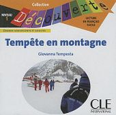 Lecture Decouverte: Niveau 1: Tempete En Montagne Audiobook CD