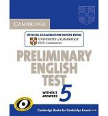 Cambridge Preliminary English Test 5 Student's Book