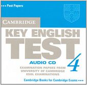 Cambridge Key English Test 4 Audio CD (Лицензия)