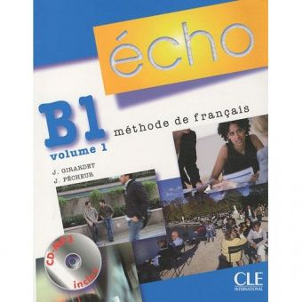 Echo B1 - Volume 1 - Livre de l'eleve + Portfolio + CD-mp3