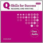 Q: Skills for Success Reading and Writing Intro Class Audio CD