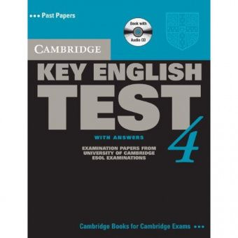 Cambridge Key English Test 4 Self Study Pack (Student's Book with answers and Audio CD)