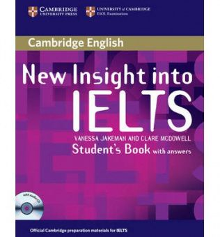 New Insight into IELTS Student's Book Pack (Student's Book with answers and Student's Book Audio CD)