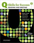 Q: Skills for Success Reading and Writing 3 Student Book with Online Practice