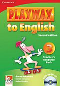 Playway to English (Second Edition) 3 Teacher's Resource Pack with Audio CD