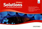 Solutions Second Edition Pre-Intermediate Online Workbook - Card with Access Code