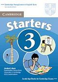 Cambridge Young Learners English Tests (Second Edition) Starters 3 Student's Book