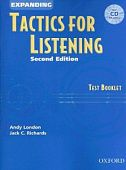 Tactics for Listening Second Edition Expanding Test Booklet with Audio CD