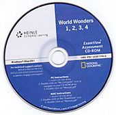 World Wonders 1 - 4 Exam View CD-ROM