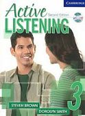 Active Listening 2nd Edition Level 3 Student's Book with Self-study Audio CD