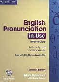 English Pronunciation in Use (Second Edition) Intermediate Book with answers, Audio CDs (4) and CD-R