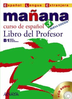 Manana 3. Libro del Profesor + CD Audio