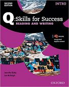 Q: Skills for Success Second Edition Reading and Writing Intro Student Book with IQ Online