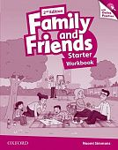 Family and Friends Second Edition Starter Workbook & Online Skills Practice Pack