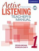 Active Listening 2nd Edition Level 1 Teacher's Manual with Audio CD