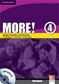 More! Level 4 Workbook with Audio CD