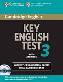 Cambridge Key English Test 3 Self Study Pack (Student's Book with answers and Audio CD)