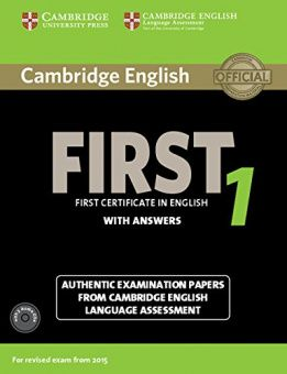 Cambridge English First 1 (for revised exam 2015) Student's Book Pack (Student's Book with Answers and Audio CDs (2))
