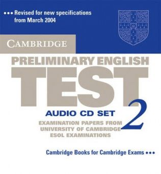 Cambridge Preliminary English Test 2 Audio CD Set (2 CDs)
