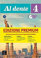 Al dente 4 Premium Libro dello studente + Esercizi + CD audio + DVD su Blink