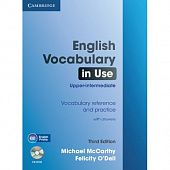 English Vocabulary in Use: Upper-intermediate (Third Edition) Book with answers and CD-ROM