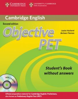 Objective PET 2nd Edition Student's Book without answers with CD-ROM