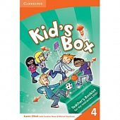 Kid's Box Level 4 Interactive DVD PAL with Teacher's Booklet