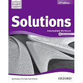 Solutions Second Edition Intermediate Workbook and Audio CD Pack