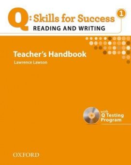Q: Skills for Success Reading and Writing 1 Teacher's Book with Testing Program CD-ROM