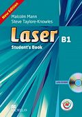 Laser Third Edition B1 Student's Book and CD ROM Pack + MPO