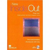 New Inside Out Pre-intermediate Workbook with key + Audio CD Pack
