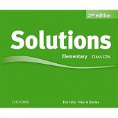 Solutions Second Edition Elementary Class Audio CDs (3)