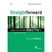 Straightforward (Second Edition) Upper Intermediate Class Audio CDs (Лицензия)