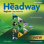 New Headway Beginner Third Edition Class Audio CDs (2)