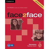 face2face (Second Edition) Elementary Teacher's Book with DVD