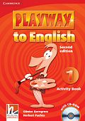 Playway to English (Second Edition) 1 Activity Book with CD-ROM