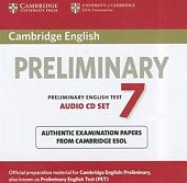 Cambridge English Preliminary 7 Audio CD Set (2 CDs) (Лицензия)