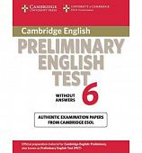 Cambridge Preliminary English Test 6 Student's Book