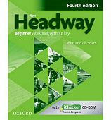 New Headway Beginner Fourth Edition Workbook + iChecker without Key