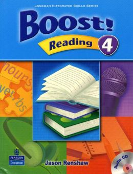 Boost Reading 4 Student's Book with Audio CD