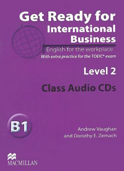 Get Ready for International Business Level 2 Class Audio CDs (TOEIC)