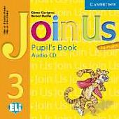 Join Us for English 3 Pupil's Book Audio CD (Лицензия)