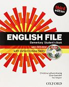 English File Third Edition Elementary Student's Book with iTutor & Online Skills