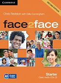 face2face (Second Edition) Starter Class Audio CDs (3) (Лицензия)