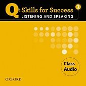 Q: Skills for Success Listening and Speaking 1 Class Audio CDs (3)