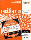 New English File Upper-Intermediate Workbook (without key) with MultiROM Pack
