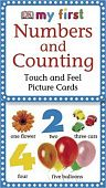 My First Touch & Feel Picture Cards: Numbers & Counting. Карточки